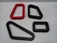 Sparco průchodka sedačky boční/ spodní - obdélník