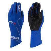 Sparco rukavice BLIZZARD KG-3 (modré, velikost 5)