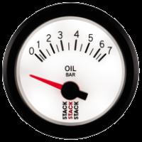 STACK elektrický ukazatel   ST3251 - tlak oleje 0 - 7 bar