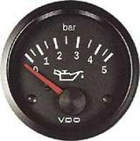 VDO ukazatel tlaku oleje/ paliva 0 - 5 bar