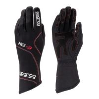 Sparco rukavice BLIZZARD KG-3 (černé, velikost 7)