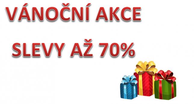Vánoční akce až 70%