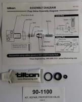 Sada repasní pro opravu ventilu TILTON