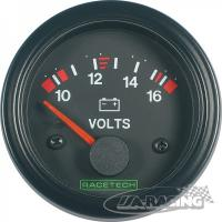 RACETECH voltmetr 10 - 16 V