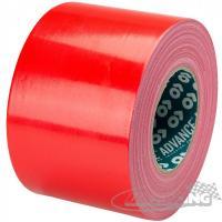 Textilní lepicí páska 10 cm/ 50 m (červená)