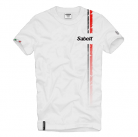 Sabelt triko VINTAGE (bílé)