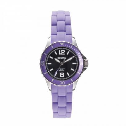 Sparco dámské hodinky s gumovým páskem