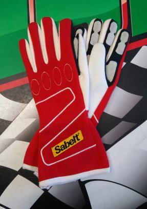 Sabelt rukavice TOUCH FG-300 (červené, vel. 9)