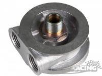 Uchycení olejového filtru (bez termostatu M18 x 1,5) nablok s propojením na olejový chladič