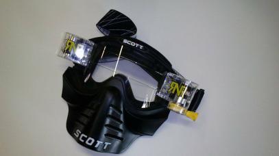 SCOTT brýle s maskou a převíjením
