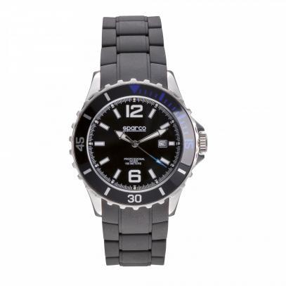 Sparco pánské hodinky s gumovým páskem