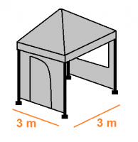 Stan 3 x 3 m kompletní
