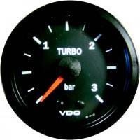 VDO ukazatel tlaku turba 0 až +3 bar