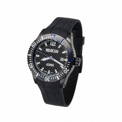 Sparco pánské hodinky CARBON