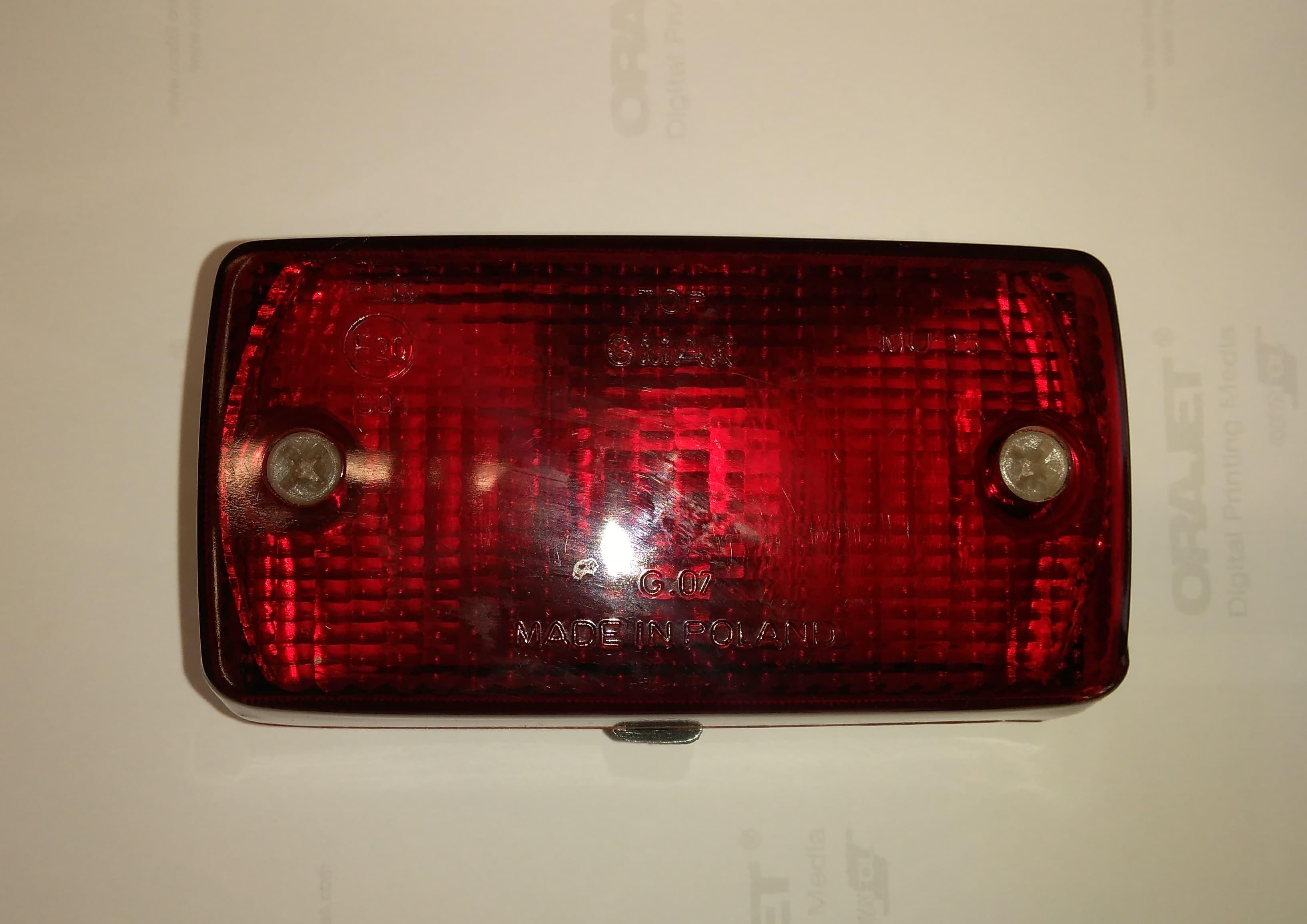 Mlhové/ prachové světlo (Š120)