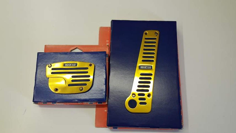 Pedály Sparco GOLD na automatickou převodovku 155a4ec21c