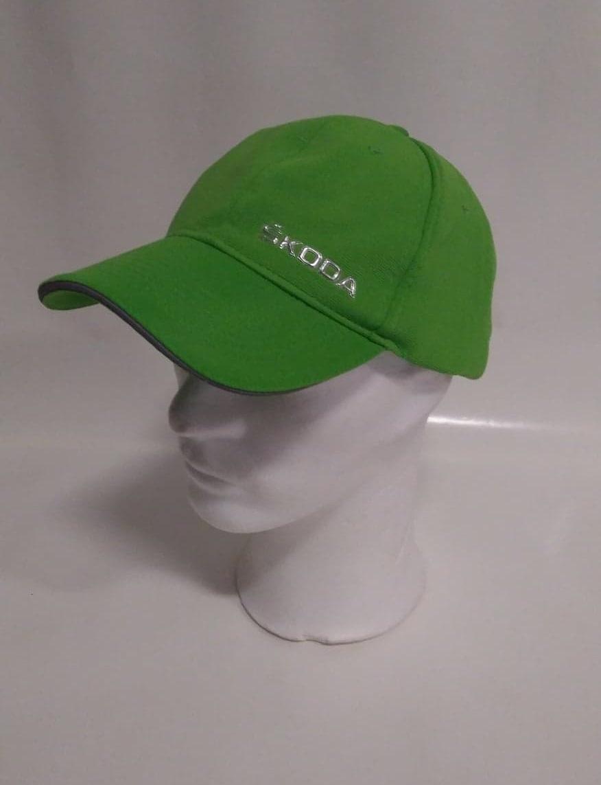 Škoda - zelená kšiltovka