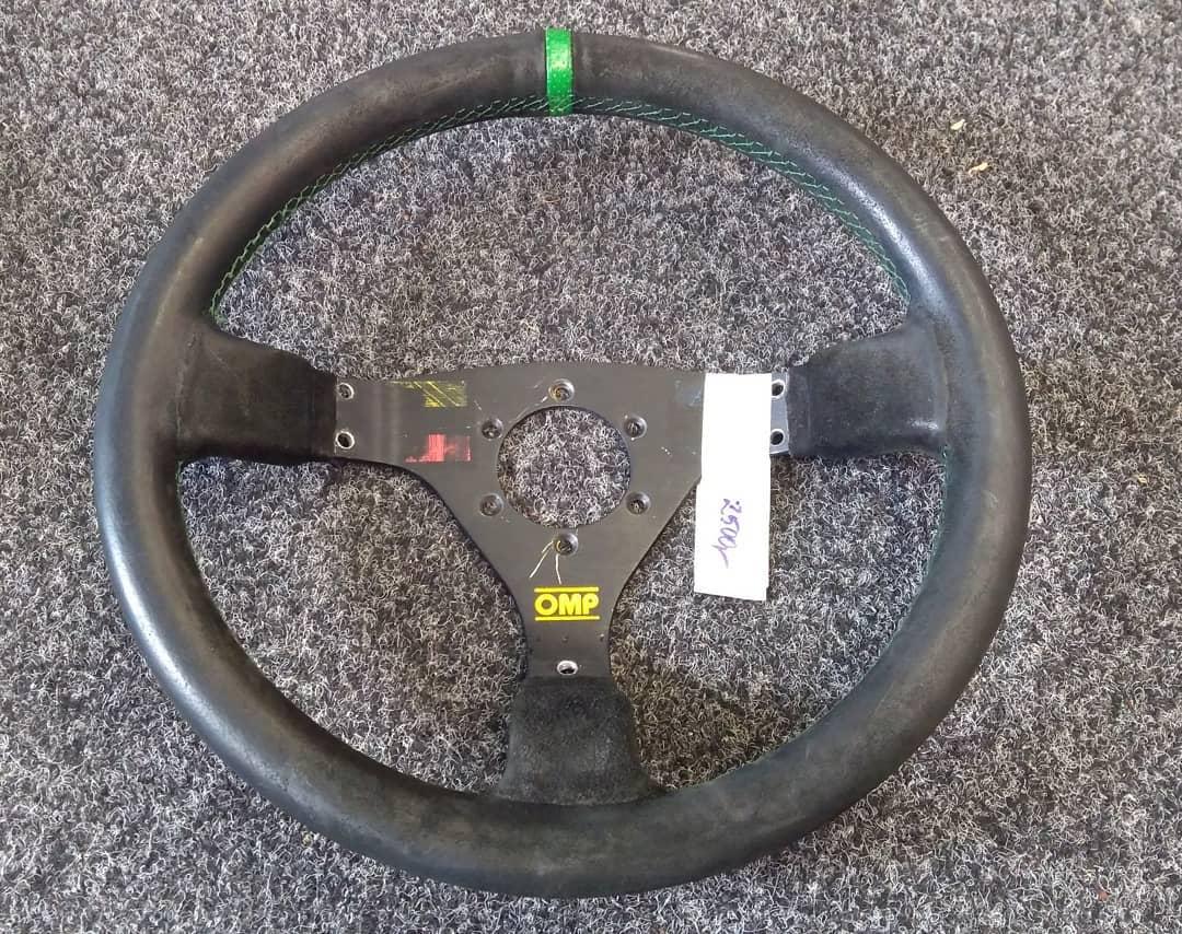 OMP volant 3R/65 zelené prošívání